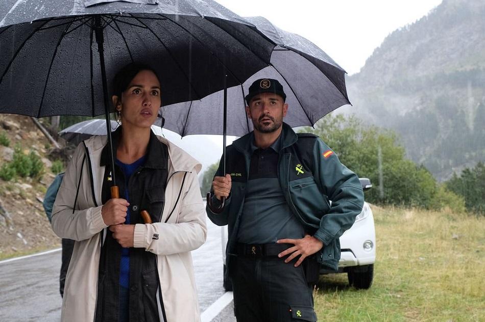 Alain Hernández y Megan Montaner en