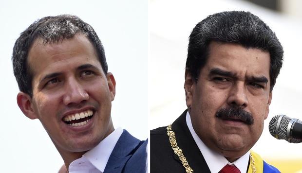Bachelet se reunirá con Juan Guaidó y Nicolás Maduro en Venezuela. (Foto: AFP)