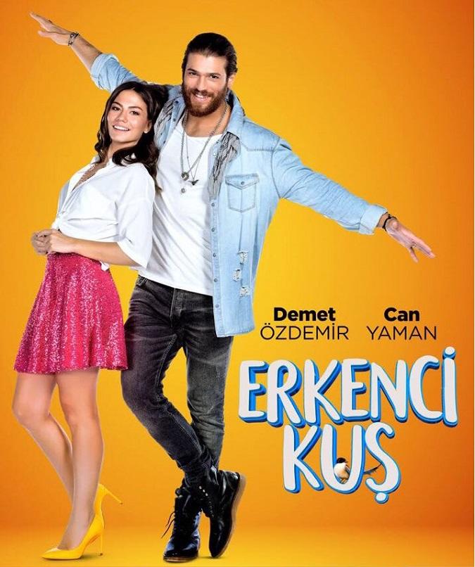 Demet Özdemir y Can Yaman son los protagonistas de