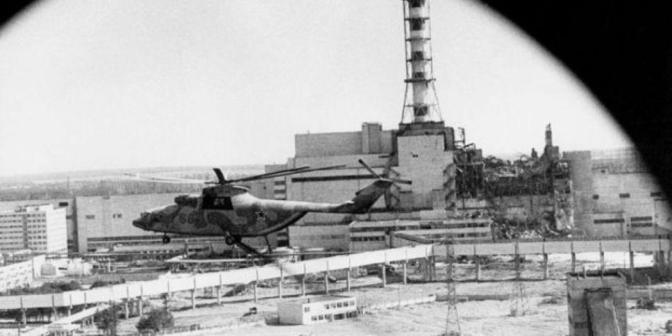 Cuando los científicos e ingenieros vieron la escena desde un helicóptero, comprendieron que la situación era muy grave. (Foto: IGOR KOSTIN/GETTY IMAGES, vía BBC Mundo)