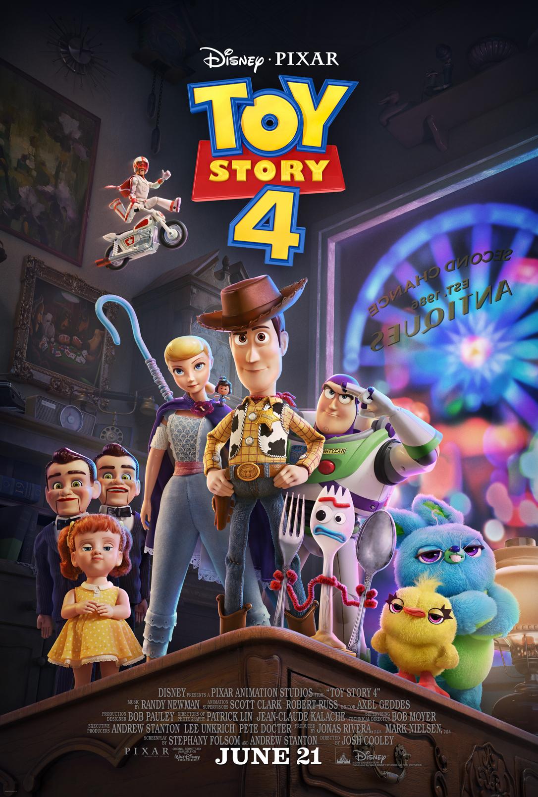 Toy Story 4 se estrena este jueves 20 de junio en Perú (Foto: Disney)