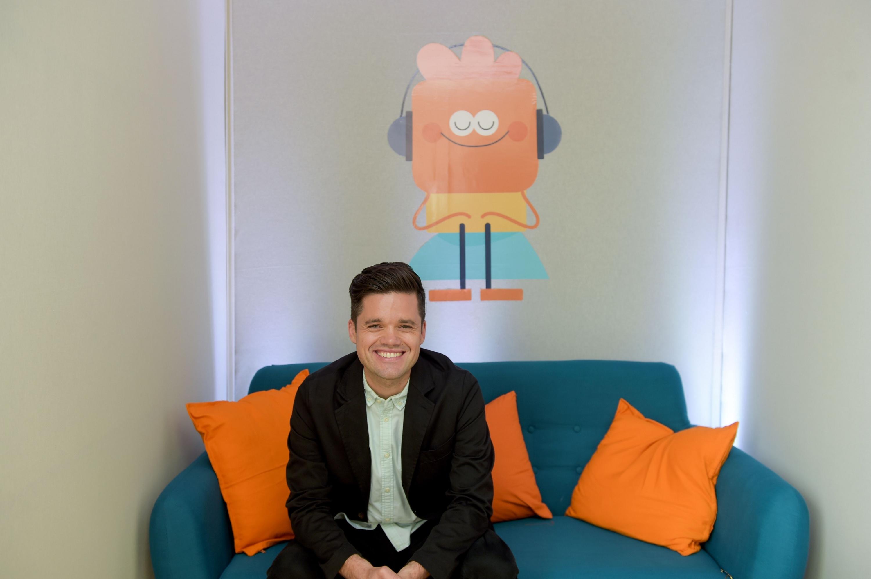 Rich Pierson, cofundador de la aplicación de meditación