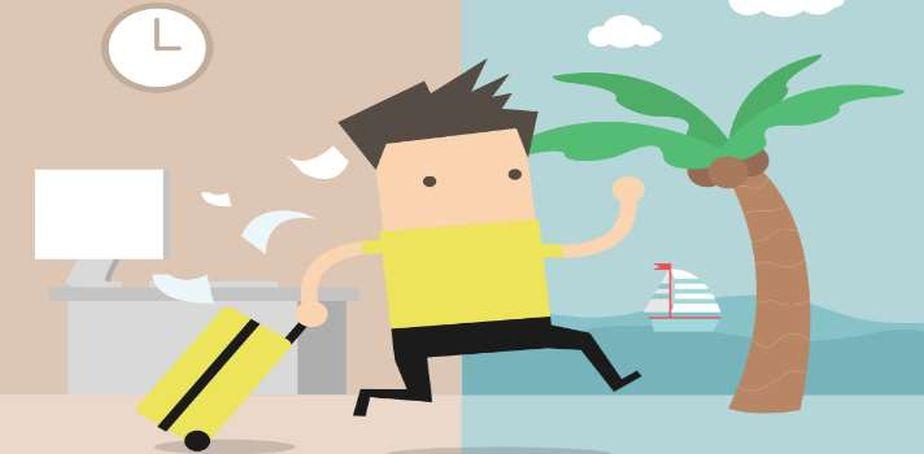 Existen muchos riesgos en la salud de una persona que no toma sus días de vacaciones. (Foto: Shutterstock)
