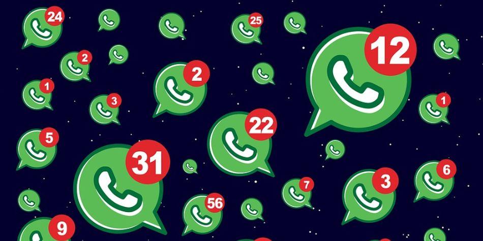 Dependiendo de la cantidad y tipo de mensajes de WhatsApp que lleguen al celular, podría generar malestar en más de uno. (Foto: Pixabay)