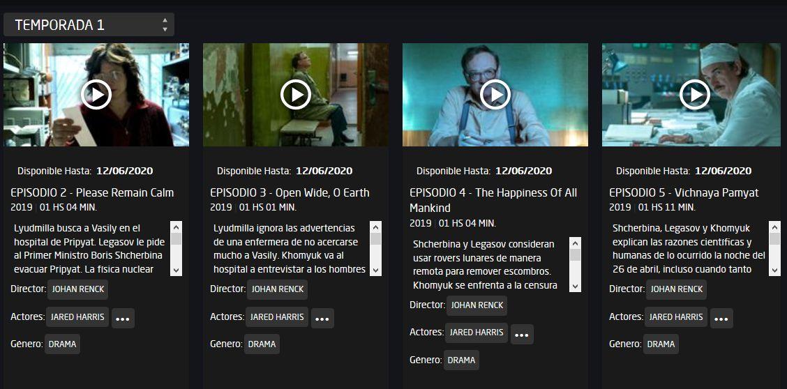 Tampoco en los créditos de la serie en la plataforma HBO GO figura el nombre de la autora de