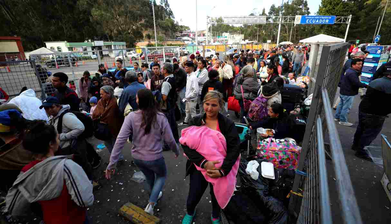 Millones de venezolanos han escapado de su país producto de la crisis que esta vive. (Foto: EFE)