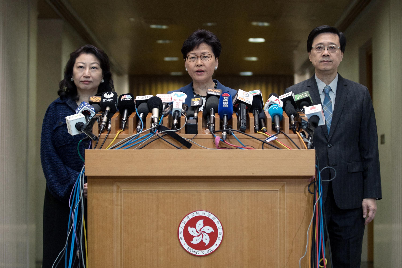 Lam aclaró en una rueda de prensa que el proyecto, que podría permitir a China acceder a