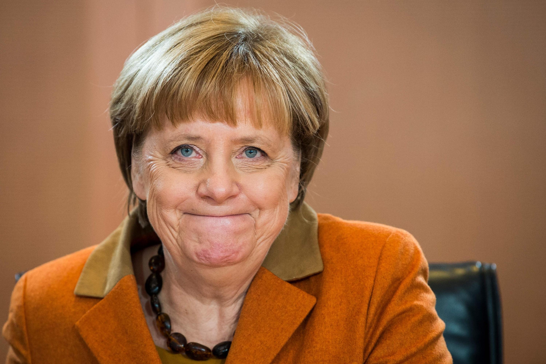 Angela Merkel es considerada una de las mujeres más poderosas del mundo según la revista Forbes. (AFP)