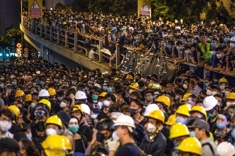 Millones de personas en Hong Kong se han manifestado contra un proyecto de ley de extradición. (Foto: EFE)
