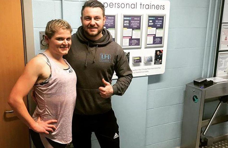 Para bajar de peso en tiempo récord, Sophie Matheson contacto a un entrenador personal. (Foto: Instagram)