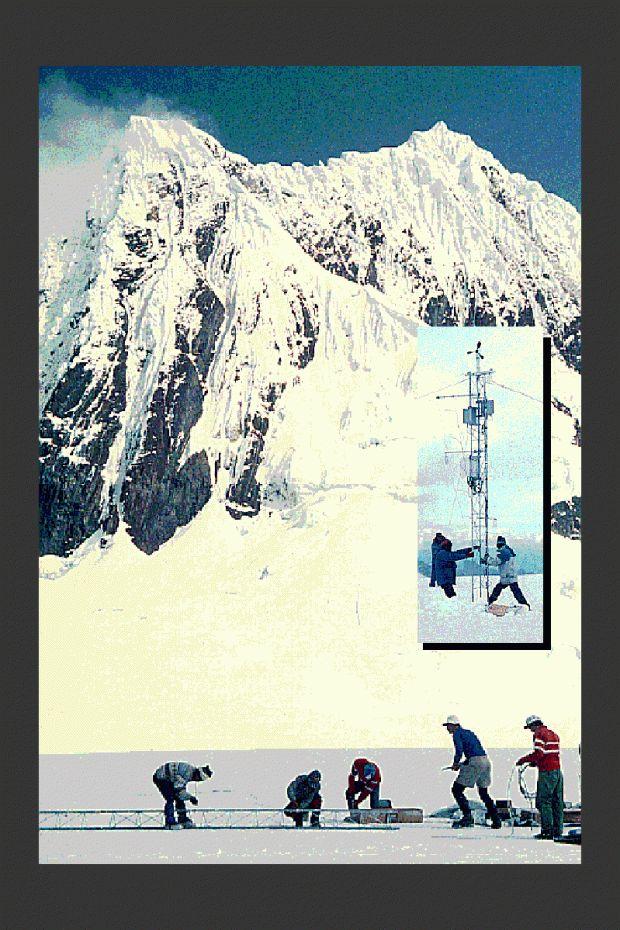 El profesor Lonnie Thompson realizó estudios en el nevado Huascarán a inicios de la década del 90. (Foto:Ohio State University)