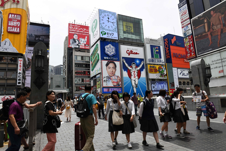 Osaka de Japón está decidida a mostrarse como la mejor luz posible para la cumbre de líderes del G20 que comenzará el 28 de junio. (Foto: AFP)