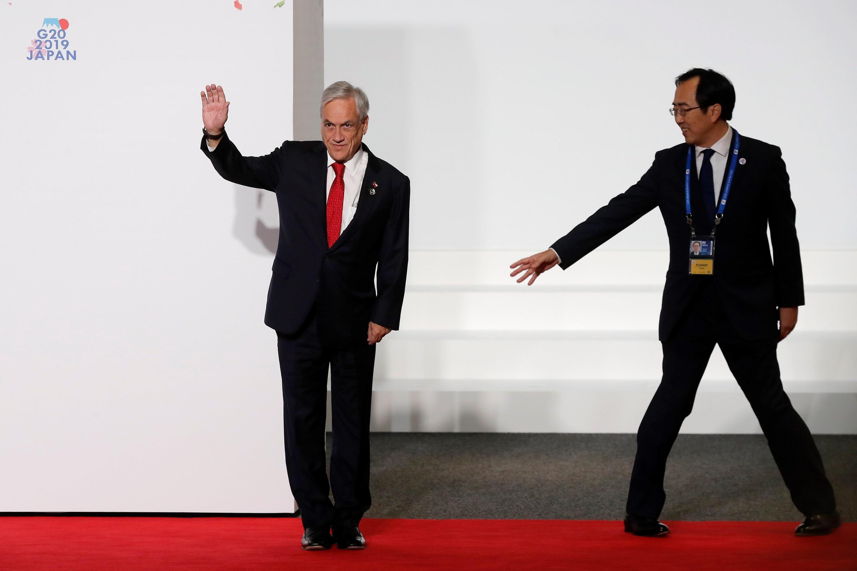 La cumbre también contó con la presencia del presidente chileno Sebastián Piñera, entre otros. (EFE)