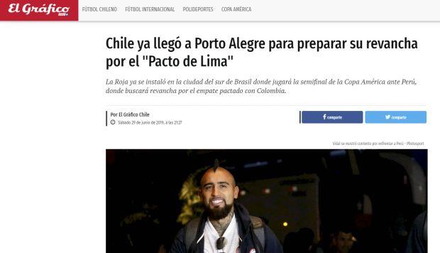 El Gráfico de Chile.