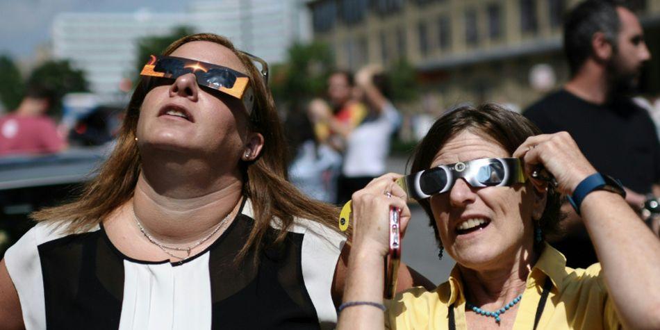 La magnitud de un eclipse solar es la fracción del diámetro solar ocultado por la Luna. (Foto: AFP)