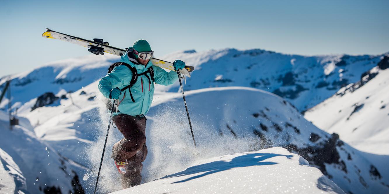 El valle del Challhuaco se caracteriza por sus blancos paisajes. (Foto: Municipalidad distrital de Bariloche)