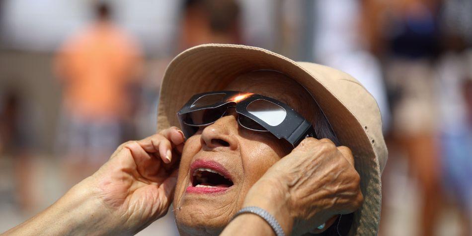 El cuidados de ojos es muy importante en este tipo de eventos.(Foto: AFP)