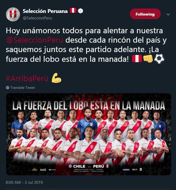 La selección peruana busca llegar a la final de la Copa América después de 44 años. (Foto: AFP)