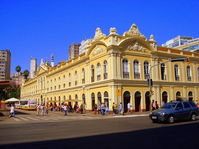 El mercado está en el centro histórico de la ciudad. (Foto: Viaje a Brasil)