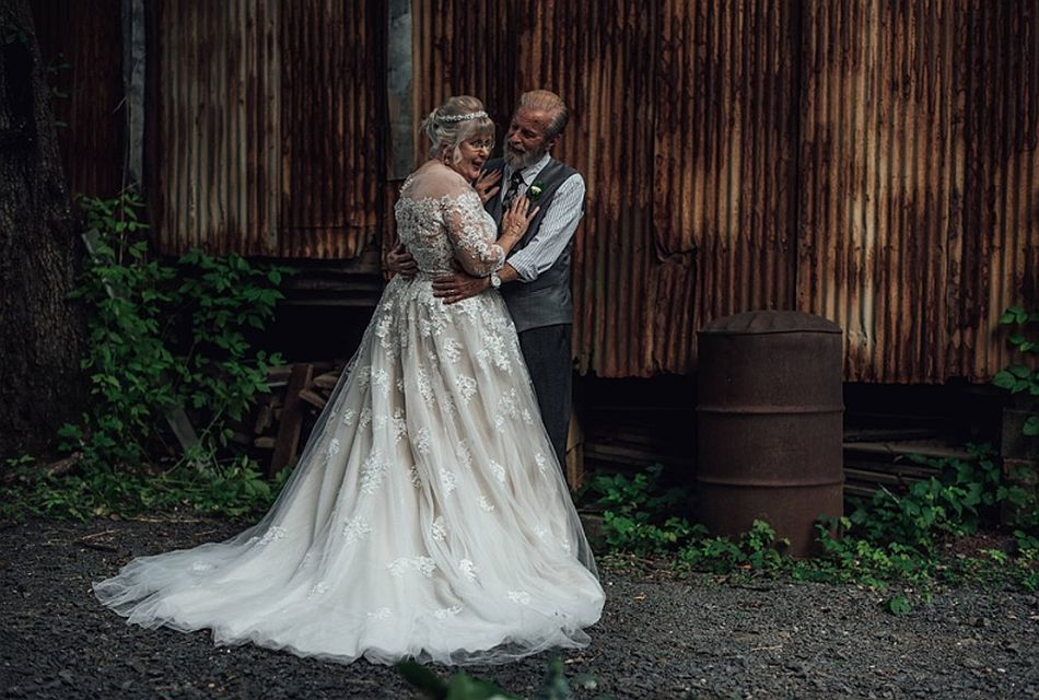 Que un romance dure 60 años no es tarea difícil, pero ellos tienen claro qué hacer y qué no. (Foto: Facebook @Abigail Gingerale Photography)