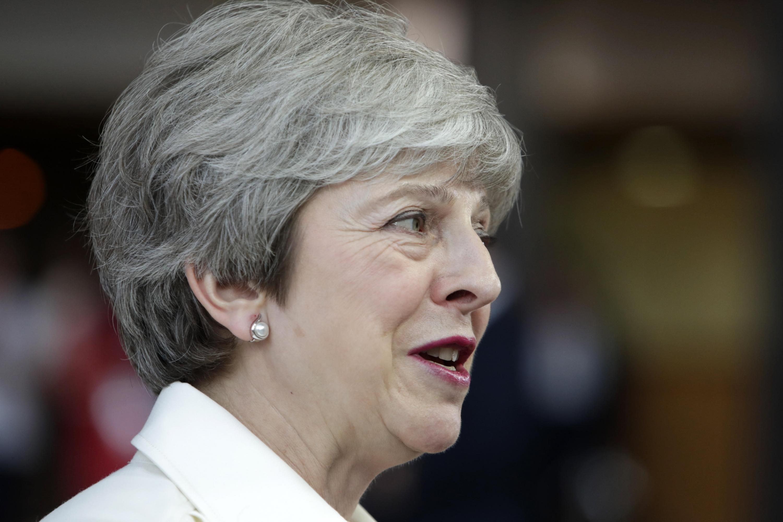 La primera ministra británica, Theresa May, había manifestado su