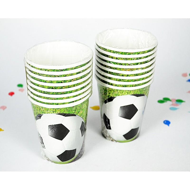 Estos vasos con detalles futbolísticos será una sensación. (Foto: Toulouse Lautrec)