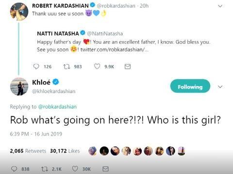 Khloé Kardashian se sincera y habla del coqueteo de su hermano Rob y Natti Natasha. (Foto: Captura)