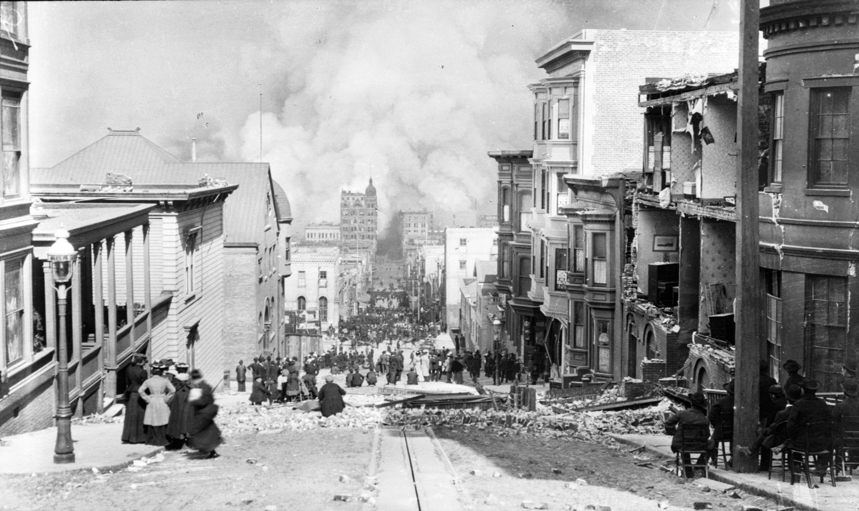 Terremoto de San Francisco de 1906. (Foto: US Library of Congress)