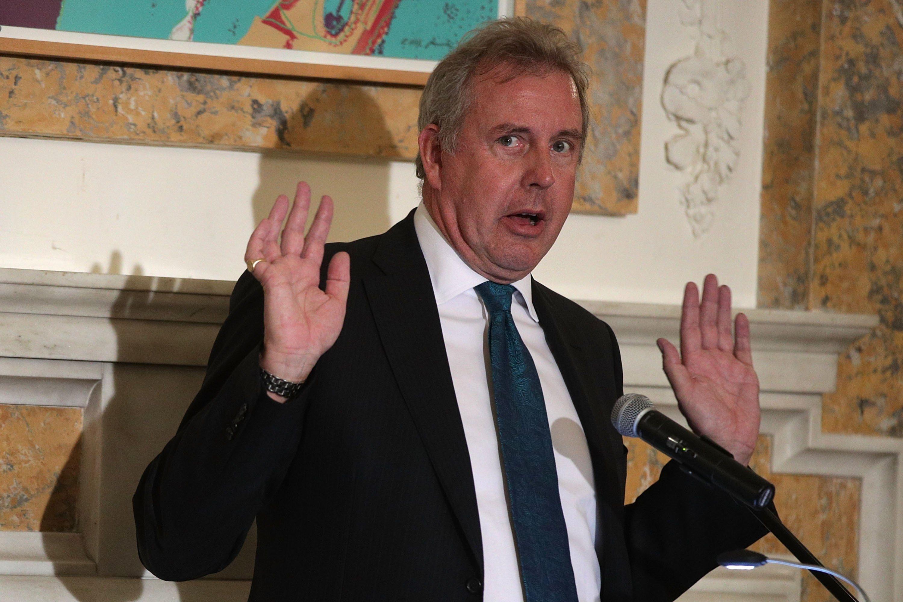 El Embajador británico en Washington, Kim Darroch. (Foto: AFP)