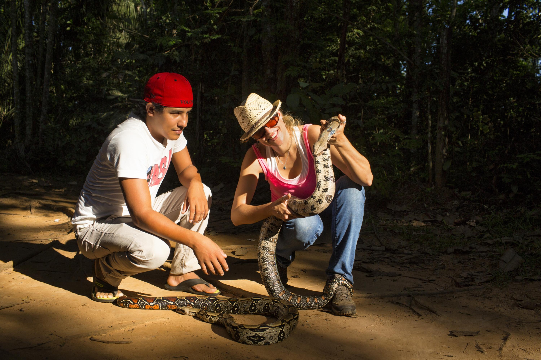 Este serpentario también sirve como refugio y albergue para animales que fueron maltratados por el ser humano. (Foto: PromPerú)