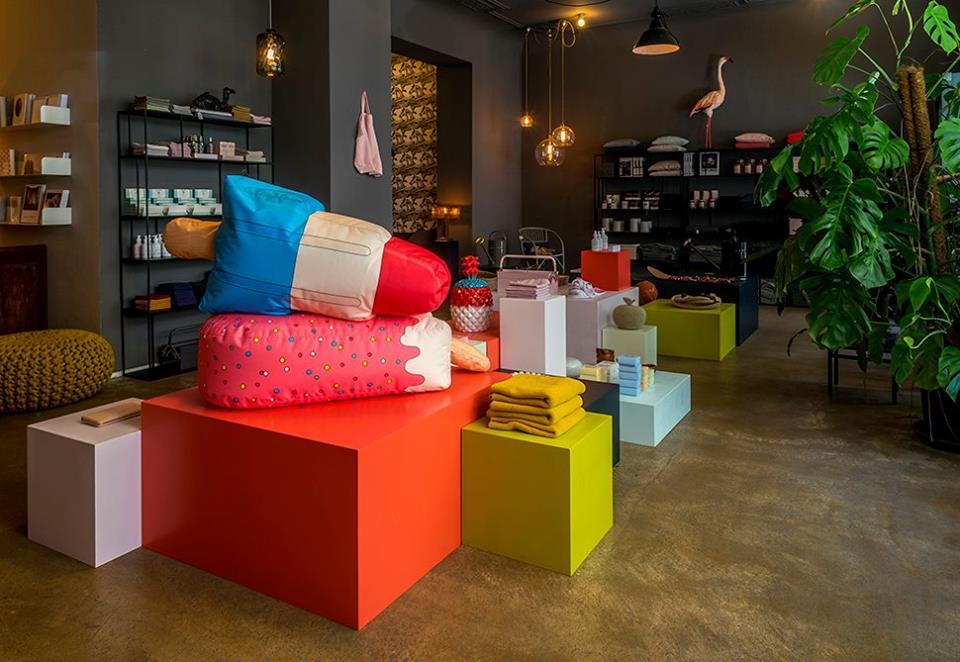 Una explosión de colores esperan aquí por ti. (Foto: Facebook Parkhaus Berlin)