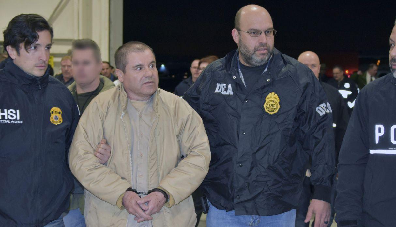 Joaquín 'El Chapo' Guzmán fue condenado a cadena perpetua en Estados Unidos. (Foto: AFP)