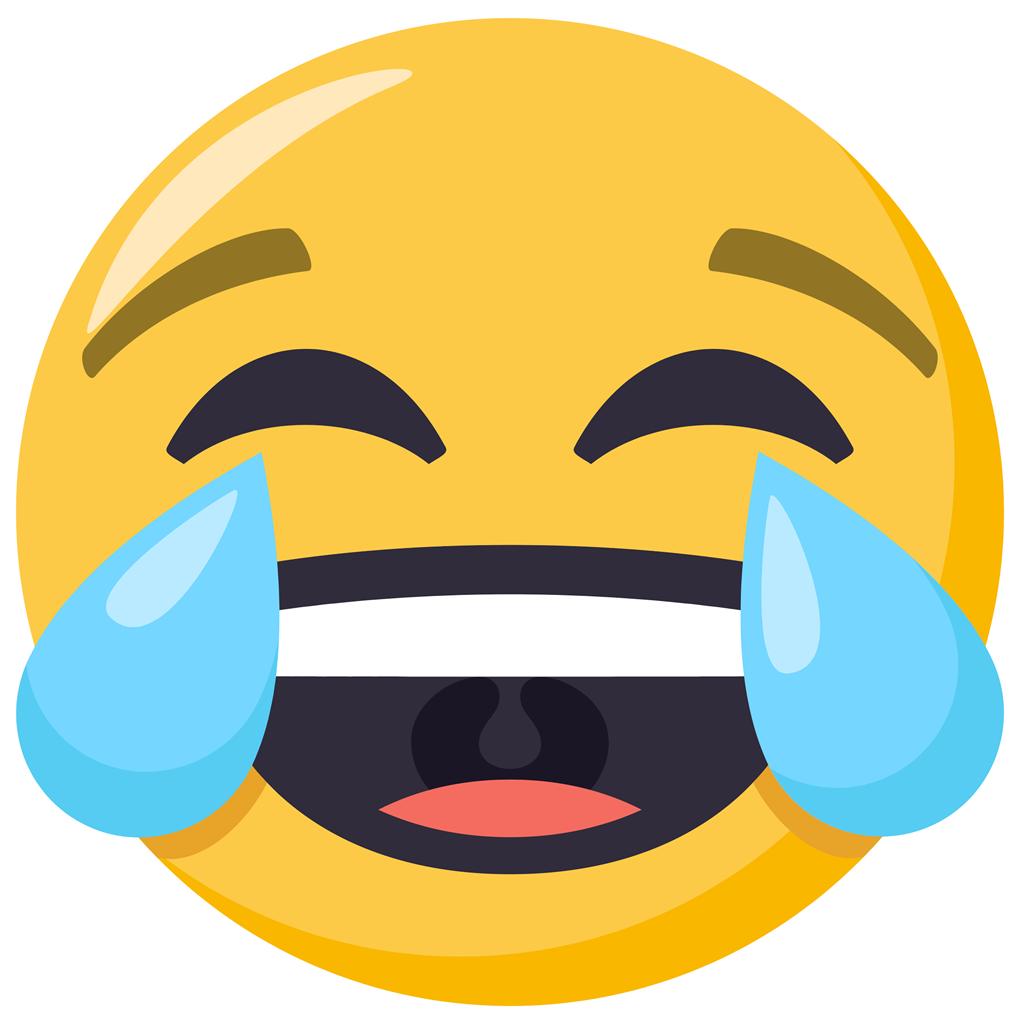 Este es el emoji más usado en Faebook y Twitter, según Statista. (Foto: Pinterest Emoji)