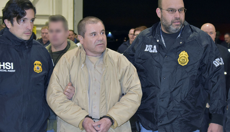 El Chapo Guzmán deberá cumplir cadena perpetua en Estados Unidos. (Foto: AFP)