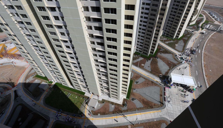 La entrega de las viviendas se realizará una vez concluido el evento deportivo, y luego de expedida la resolución suprema correspondiente, y en acto público. (Foto: Andina)