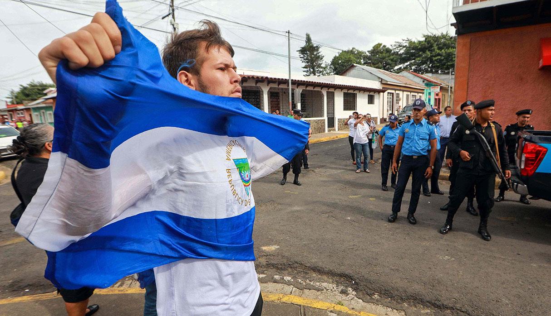 Sin embargo, las jornadas de protestas continúan en Nicaragua. (Foto: AFP)