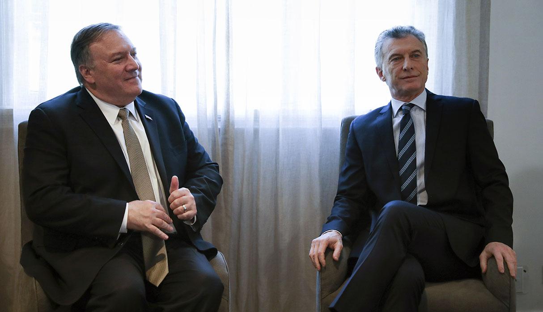Mike Pompeo indicó en Argentina que régimen de Nicolás Maduro