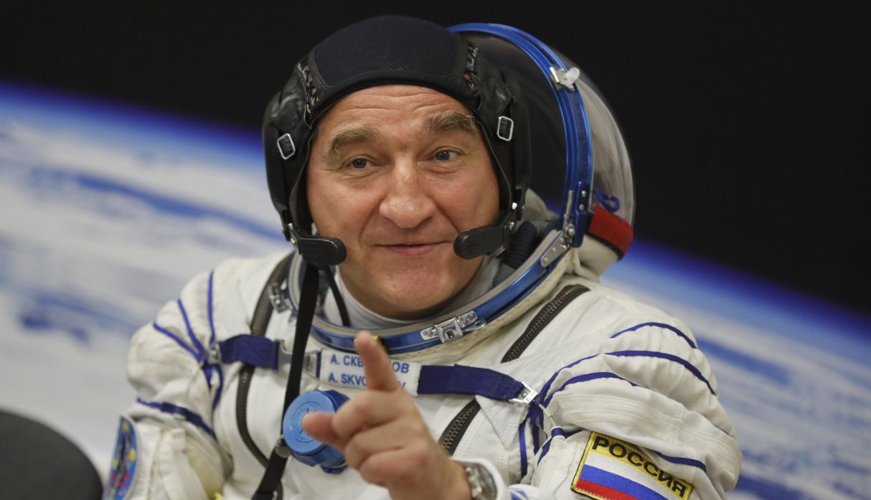 En la imagen,  el tripulante ruso Alexandr Skvortsov. (Foto: AFP)