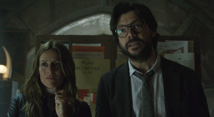 No podemos imaginar que hará el profesor para sacar a su banda (Foto: Netflix)