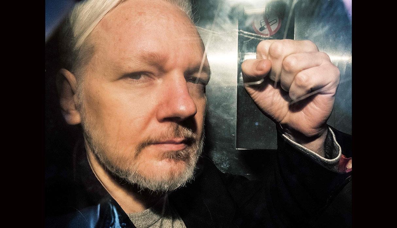 El fundador de WikiLeaks, Julian Assange, actualmente está en una prisión en Londres. (Foto: AFP)