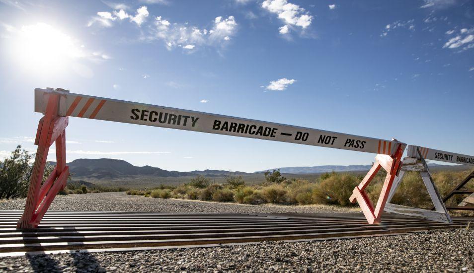 El acceso al Área 51 está prohibido, bajo orden de disparar. (Foto: EFE)