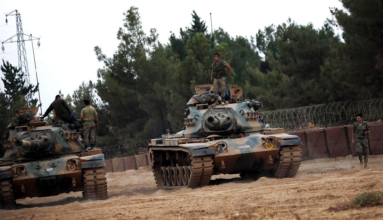 Turquía amenaza con iniciar una operación militar en Siria si no se crea, en conjunto con Estados Unidos, zona segura fronteriza. (Foto: EFE)