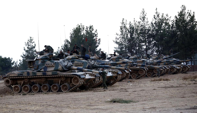 Turquía amenaza con iniciar una operación militar en Siria si no se crea, en conjunto con USA, zona segura fronteriza. (Foto: EFE)