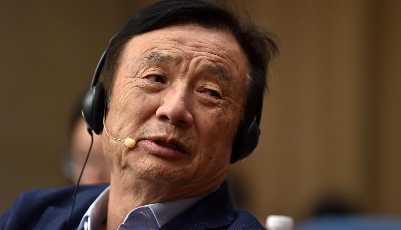 Ren Zhengfei, fundador de Huawei. (Foto: AFP)