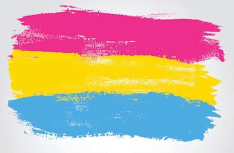 Los colores que identifican la Pansexualidad (Foto: Themix)