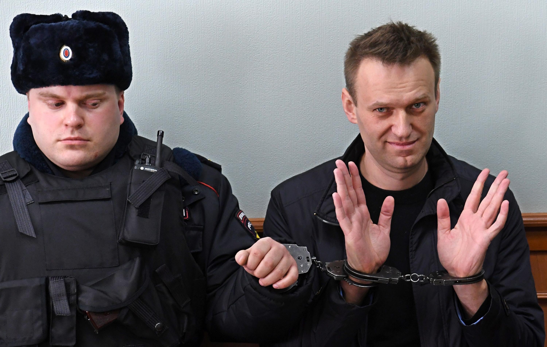 30 de marzo de 2017. Alexei Navalny fue arrestado durante la manifestación anticorrupción del 26 de marzo. (Foto: AFP)