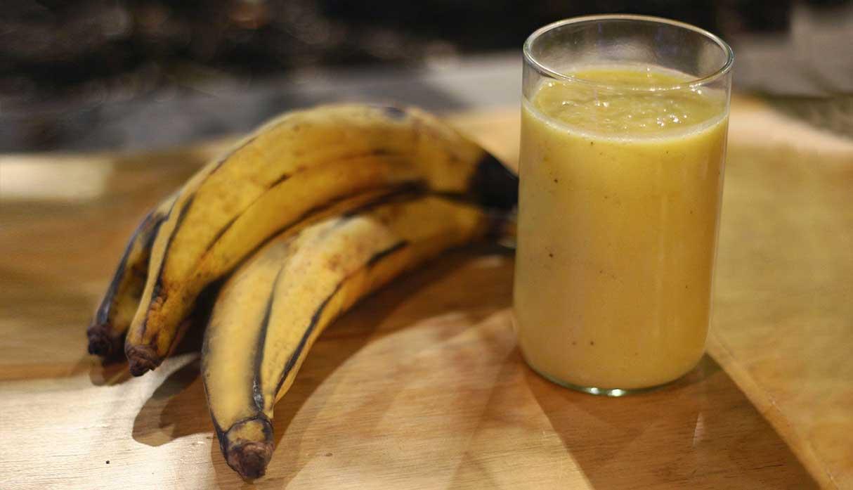 El chapo tiene como ingrediente principal al plátano maduro. (Foto: Antonio Melgarejo)