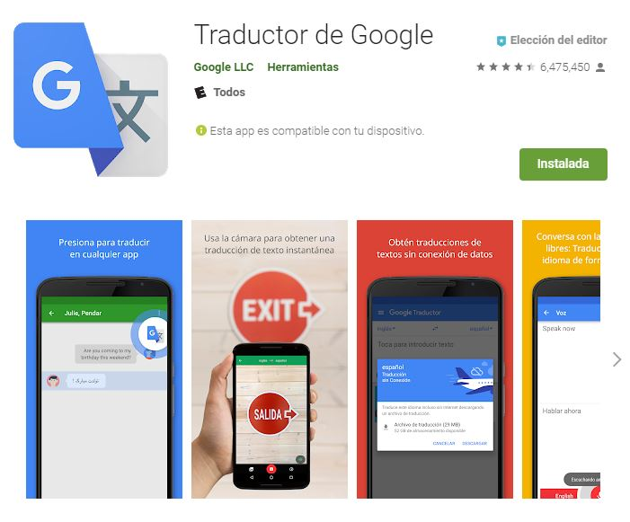 Esta es una de las Apps es una de las básicas que debes tener en tu Smartphone. (Foto: Google Play)