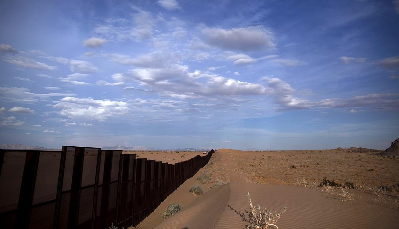 La frontera de Estados Unidos y México, en la zona de Arizona. (Foto: AP)