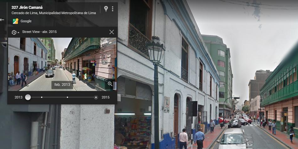 Gracias a la herramienta de Google Maps podrás remontarte 20 años atrás. Truco solo puede usarse en la computadora. (Foto: Google)
